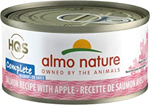 Almo Nature HQS Complete In Gravy, Grain Free, Adult Cat Canned Wet Food, Flaked