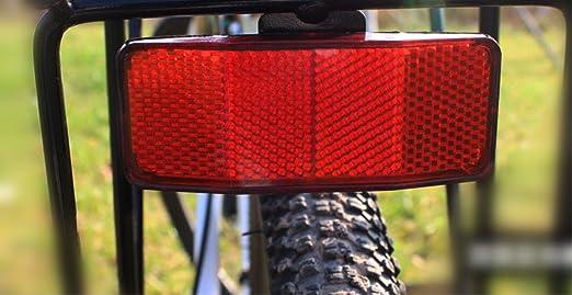 HiRXX- Marco de Seguridad para Bicicleta, con Reflector de ...