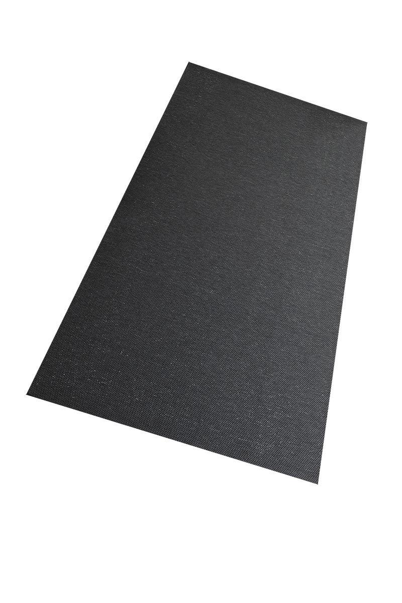 Flachgewebe Teppich Sahara - robuste robuste robuste Kunstfaser in Edler Sisal-Optik   schadstoffgeprüft pflegeleicht strapazierfähig   für Wohnzimmer Schlafzimmer Büro, Farbe Schwarz, Größe 160 x 180 cm B01NAPM6X7 Teppiche 7a0705