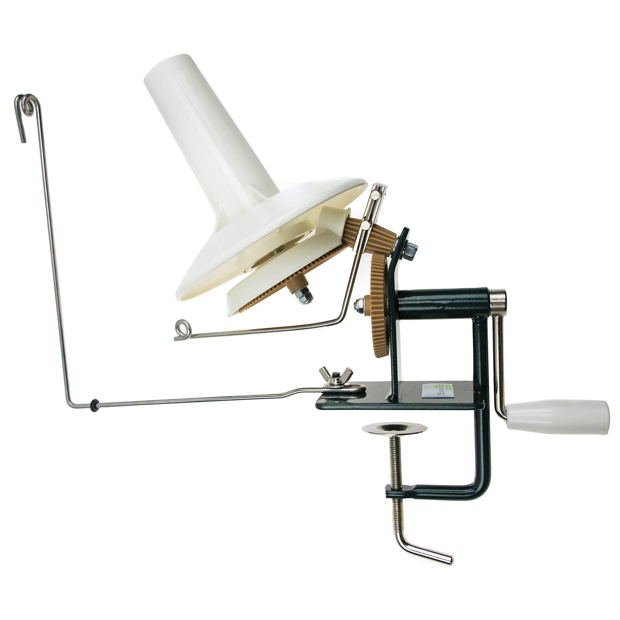 Stanwood Needlecraft Large Metal Yarn/Fiber/Wool/String Ball Winder, 10-Ounce by Stanwood Needlecraft (Image #1)