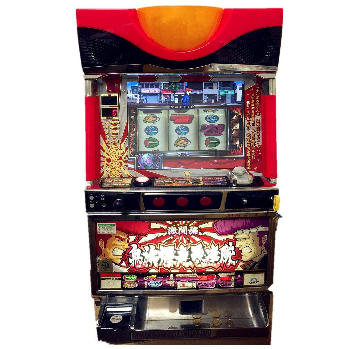 Amazon.com: ONIHAMA BAKUSOU GURENTAI Anime Digital LCD Japanese Pachislo  Skill Stop Slot Machine: Toys & Games