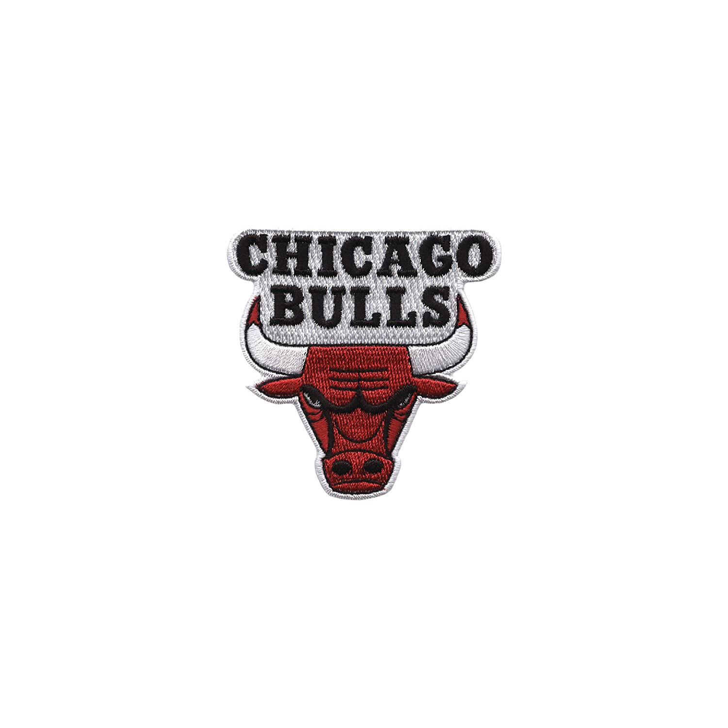 Clear Emblem Tervis 1066758NBA Chicago Bulls Water Bottle with Grey Lid 24 oz