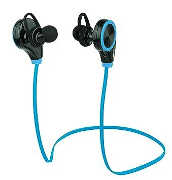 Auriculares Bluetooth Duhud. Auriculares a prueba de sudor, intrauditivos estéreo e inalá