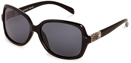 Eyelevel – Gafas de sol polarizadas para mujer, color negro, talla talla única