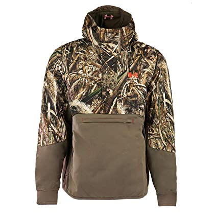 fcb299ac8f6 Under Armour Coldgear Infrared Skysweeper Wind Hoody - Men s Realtree Max 5    Dynamite Large