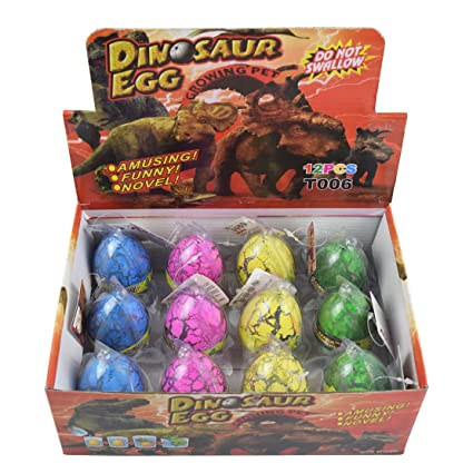 Action Figures Yeelan Hatching Dino Egg Toy Dinosaur Dragon Hatch-grow Eggs Large Size Pack Of Animals & Dinosaurs