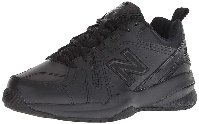 New Balance Womens 608v5 Casual Comfort Cross Trainer, Black, 9 W US