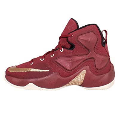 Nike Lebron XIII GS (Team Red/Metallic Red Bronze-Black) (5.5