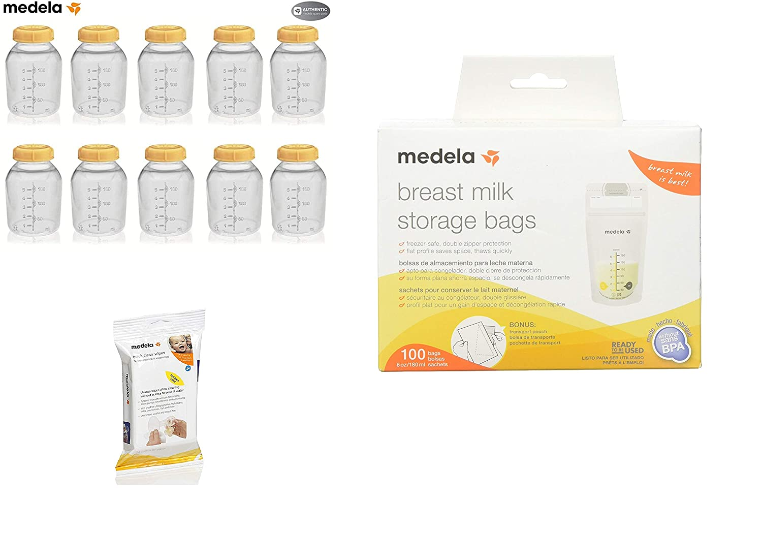 Amazon.com: Medela 150 Ml - Estuche para botellas de ...