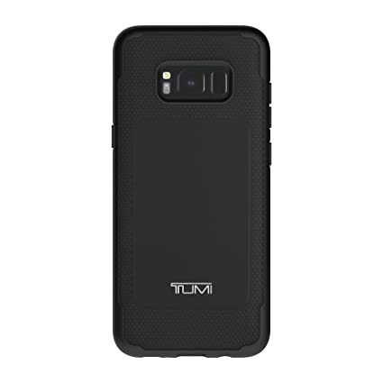 new style 83f2f 5f998 TUMI Leather Co-Mold Case for Samsung Galaxy S8+ - Black