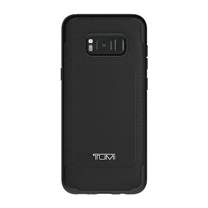 new style a9e3f 7171e TUMI Leather Co-Mold Case for Samsung Galaxy S8+ - Black