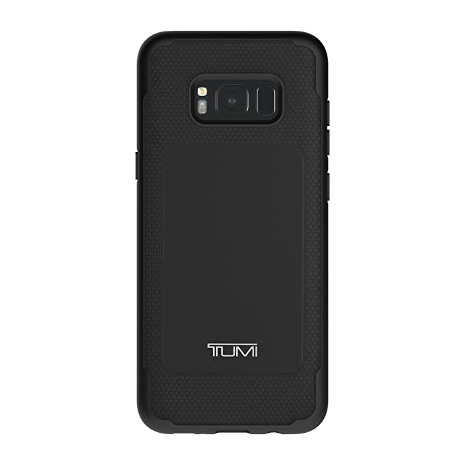 new style b6c5c dec5c TUMI Leather Co-Mold Case for Samsung Galaxy S8+ - Black