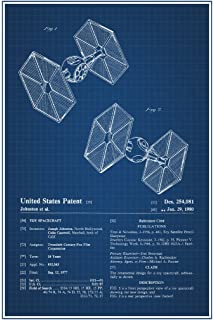 Amazon walker toy official patent blueprint poster 12x18 spaceship toy official patent blueprint poster 12x18 malvernweather Gallery