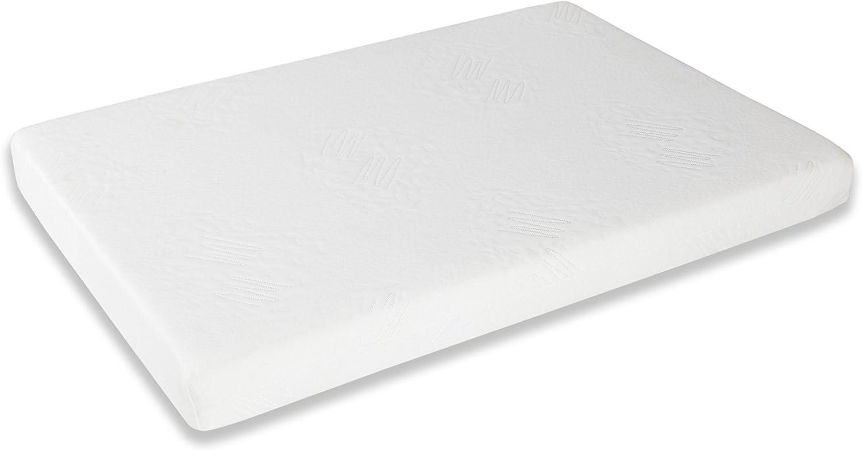 Seasons Colchón para Minicuna, Tejido De Punto, Blanco, 30x50x7 cm