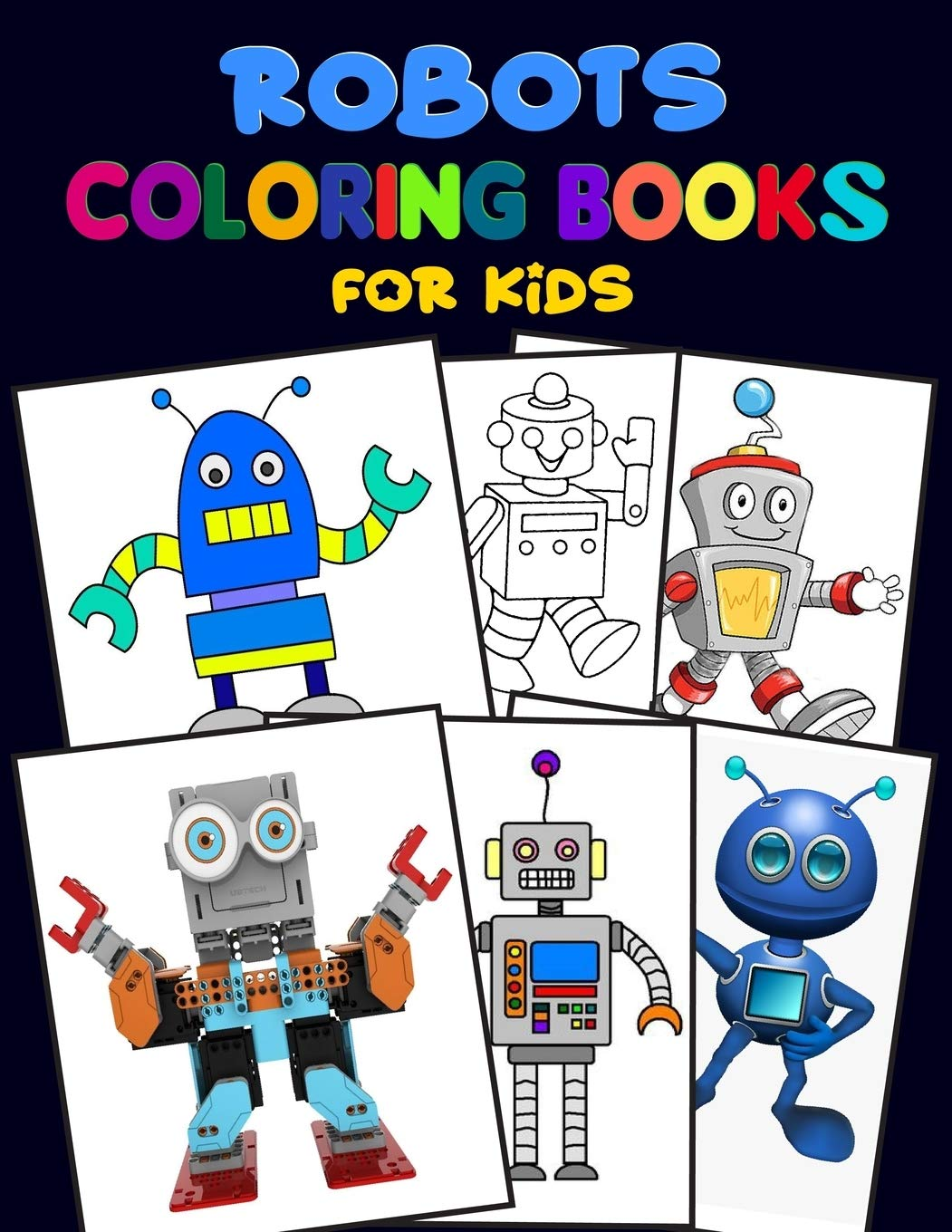 - Robots Coloring Books For Kids.: Robot Coloring Books For Kids