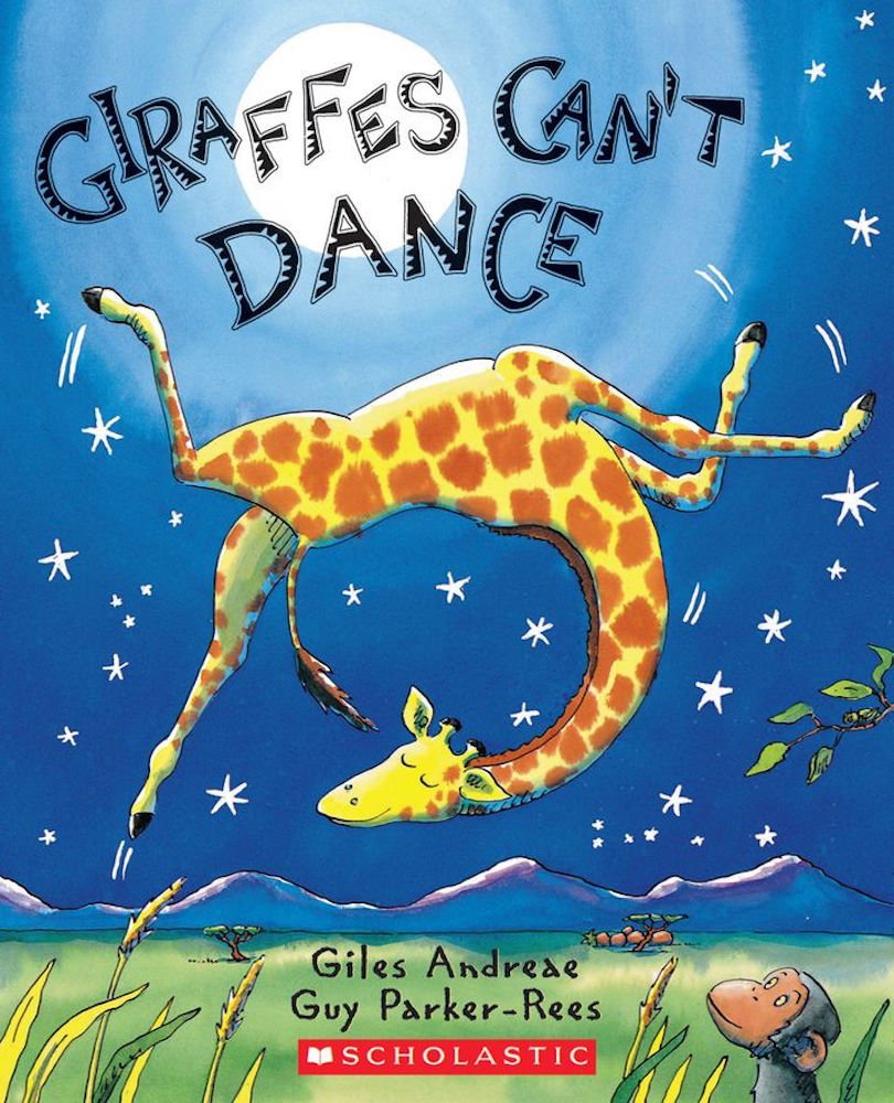 Download Giraffes Can't Dance (Large Scholastic Paperback), ISBN: 0439287200 (on back), ISBN: 0439539471 (on title page) ebook