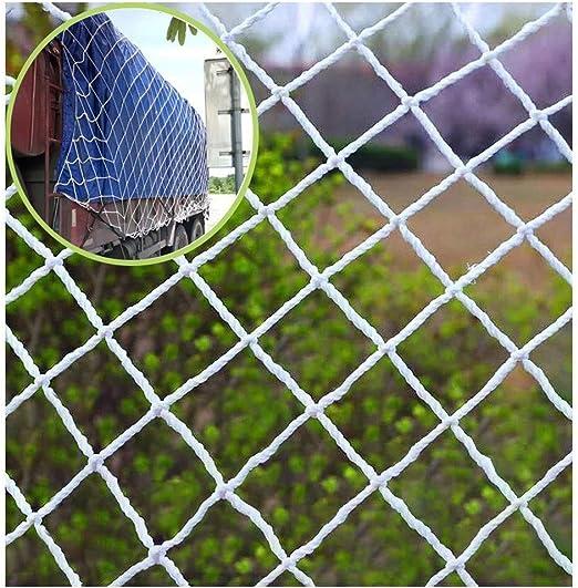 Red de Protección for Niños Red Extraíble de Seguridad Barandilla de Escalera Red de Malla Protección de Caída Red de Seguridad Balcón Y Patios Duraderos - Material de Tela de Malla Resistente,Blanco: