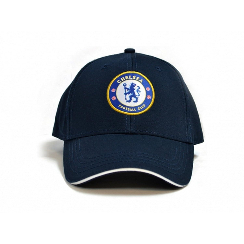 Chelsea FC Official Football Deluxe Baseball Cap UTBS837_1