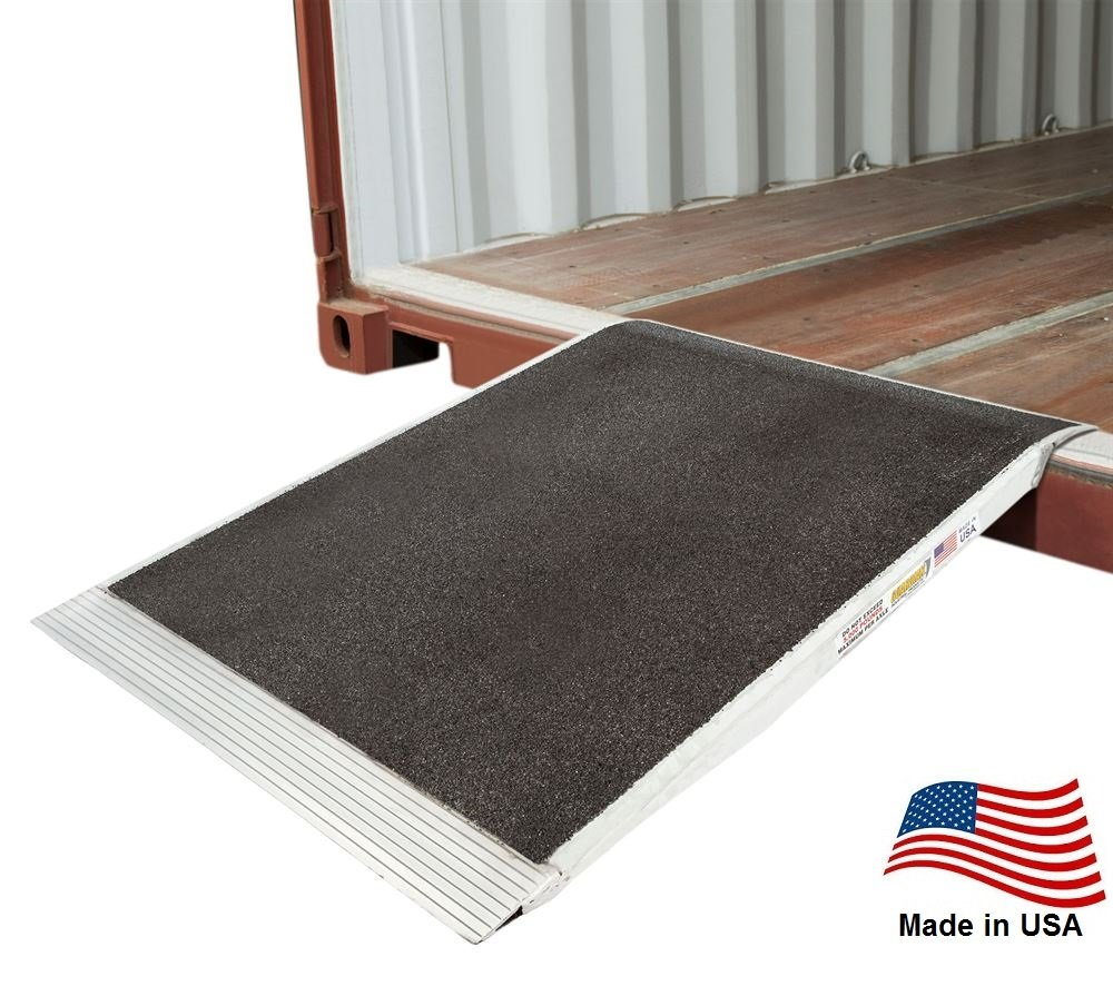 Pallet Jack 48x36 Shipping Container Ramp 05-36-048-06-Grit Made in USA