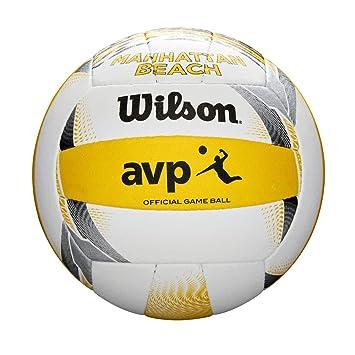 Wilson WTH6103XB Pelota de Voleibol AVP City Replica Manhattan ...
