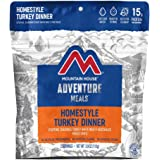 Mountain House Homestyle Turkey Dinner | Freeze Dried Backpacking & Camping Food | Survival & Emergency Food