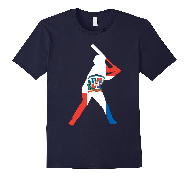 Dominican Republic Baseball Flag T-shirt Gift-TH