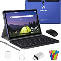Tablet 10 Pulgadas 4G LTE WiFi, Android 10.0 Ultrar-Rápido Tablets 4GB RAM + 64GB ROM / 128GB Escalable, Laptop…