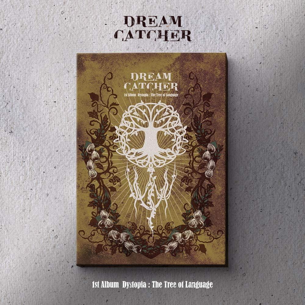 Dreamcatcher Dystopia The Tree of Language Vol.1 Album gefaltetes Poster und zus/ätzliche Fotokartenset E Ver.