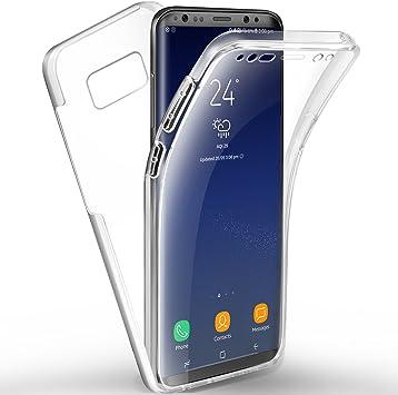 Étui Coque Samsung Galaxy S8 Plus 3 en 1 Hybrid Dur PC Bumper Cover Anti