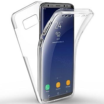 AROYI Funda Samsung Galaxy S8, Carcasa Transparente Galaxy ...