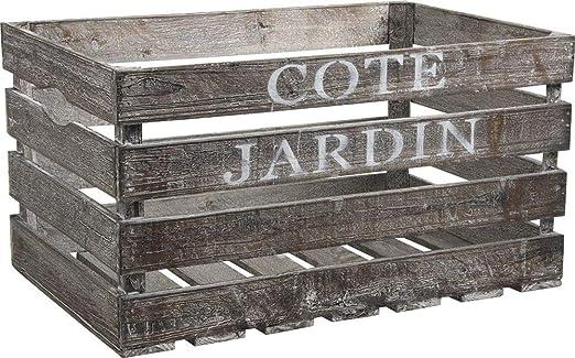 Caja de madera Côté Jardin: Amazon.es: Jardín