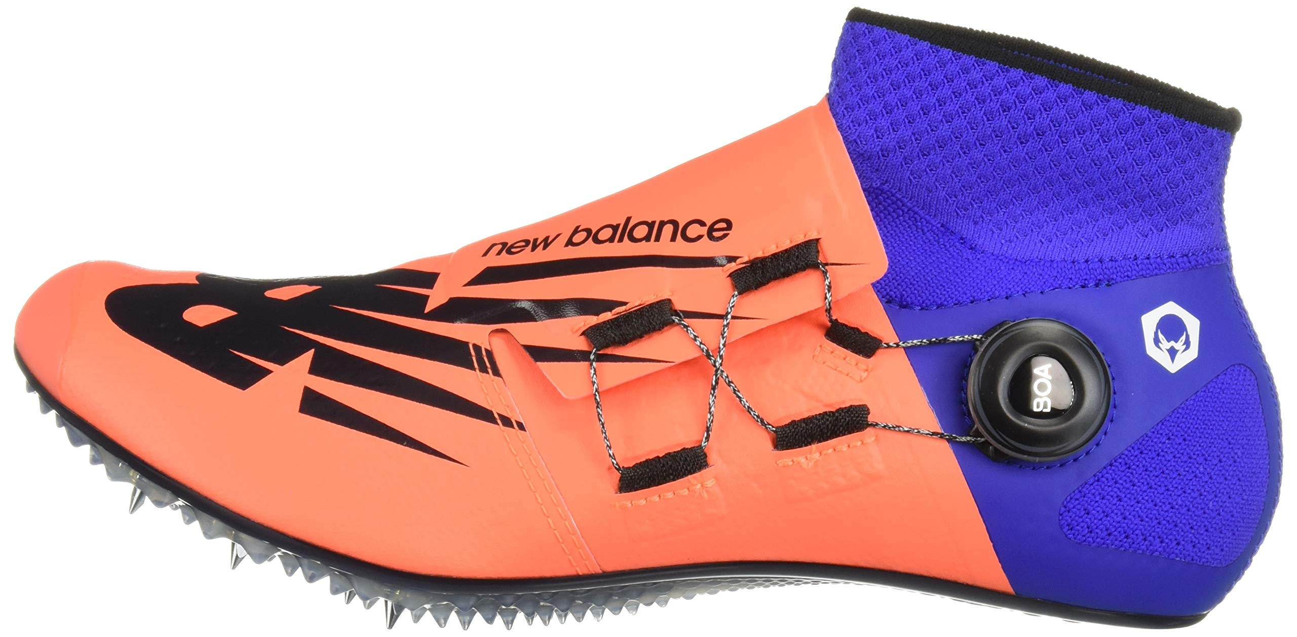 New Balance Men's Sigma Harmony Vazee Track Shoe Dark Mango/uv Blue 5 D US by New Balance (Image #5)