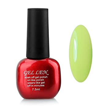 Gellen Nail Polish Led Uv Gel Nails 1pc Capacity 10ml Each 300 Colors Collection Color 105 Olive Green