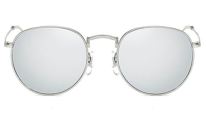a6228d0c97f6 Dormery RSSELDN Retro Round Sunglasses Women Men Brand Designer Sun glasses  for Women's Alloy Mirror Glasses