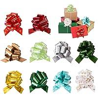 Naler 10 Lazos para Embalaje de Regalo Navidad