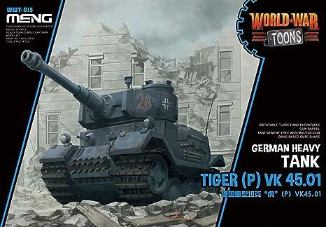 Amazon com: MNGWWT015 Meng World War Toons - Tiger (P) VK