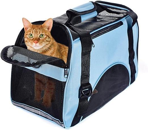 PETCUTE Transportadora para Gatos Transportín para Perros Bolsa de ...