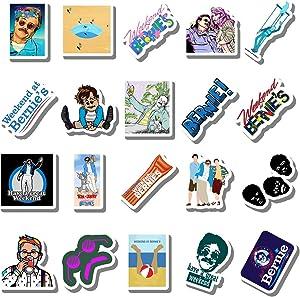 20 PCS Stickers Pack Weekend Aesthetic at Vinyl Bernies Colorful Waterproof for Water Bottle Laptop Bumper Car Bike Luggage Guitar Skateboard