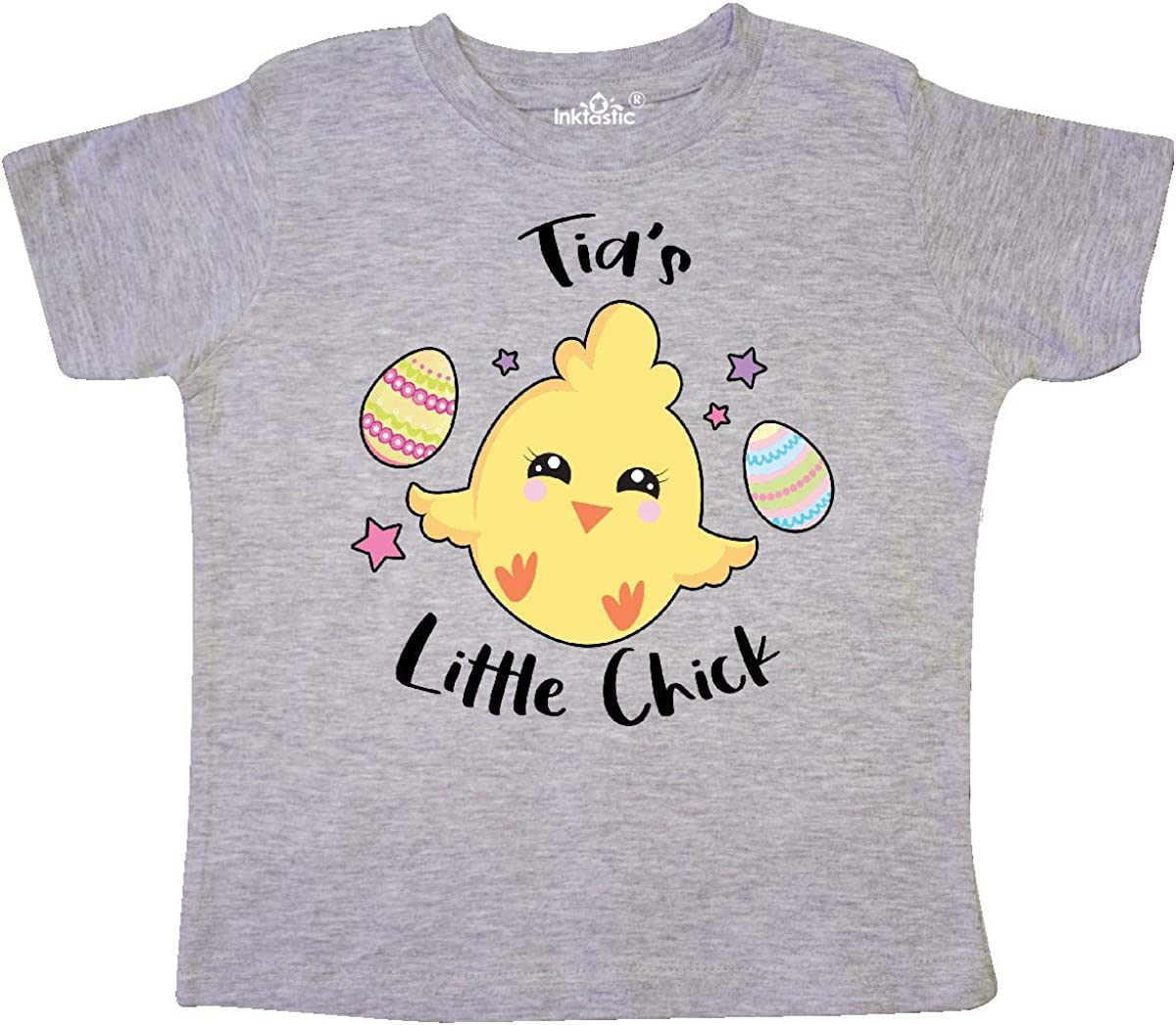 inktastic Happy Easter Tias Little Chick Toddler T-Shirt