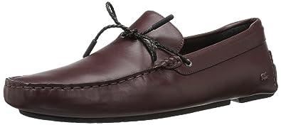 d65b6df6279b Lacoste Men s Piloter Corde 117 1 Formal Shoe Fashion Sneaker Dark Brown 7  ...