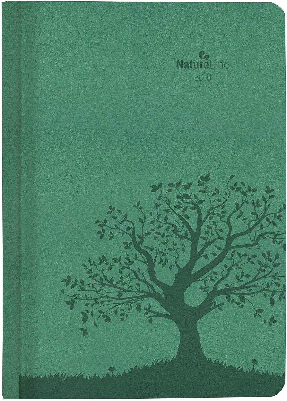 """Agenda Giornaliera Nature Line 2019 """"Foresta"""" 15X21 Cm"""