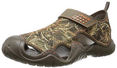 44f9389d533 crocs Men s Swiftwater Realtreemax5 Fisherman Sandal
