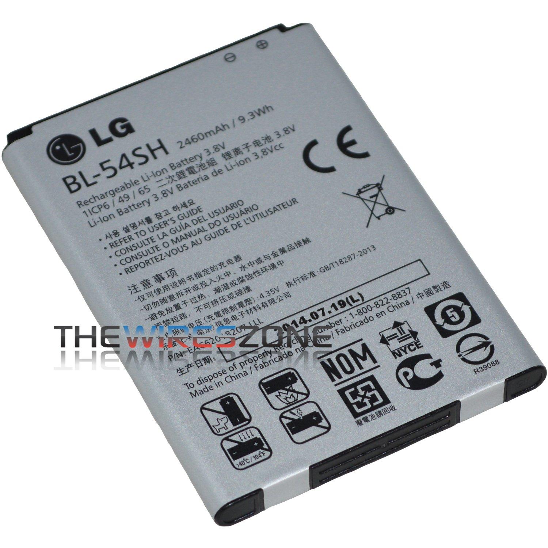 Amazon.com: Genuine OEM Original LG BL-54SH 2460mAh Battery for Optimus P698  F7 US870 - Non-Retail Packaging - Grey: Cell Phones & Accessories