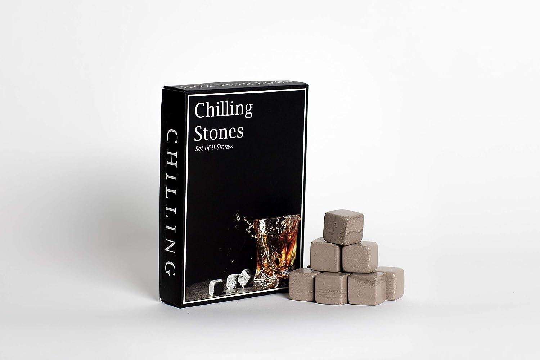 Polished Black Chilling Stones