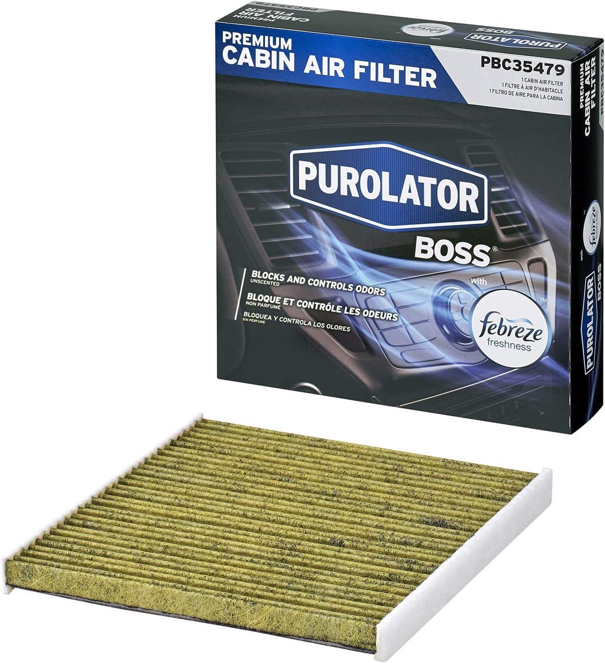 Purolator PBC35479 PurolatorBOSS Premium Cabin Air Filter with Febreze Freshness
