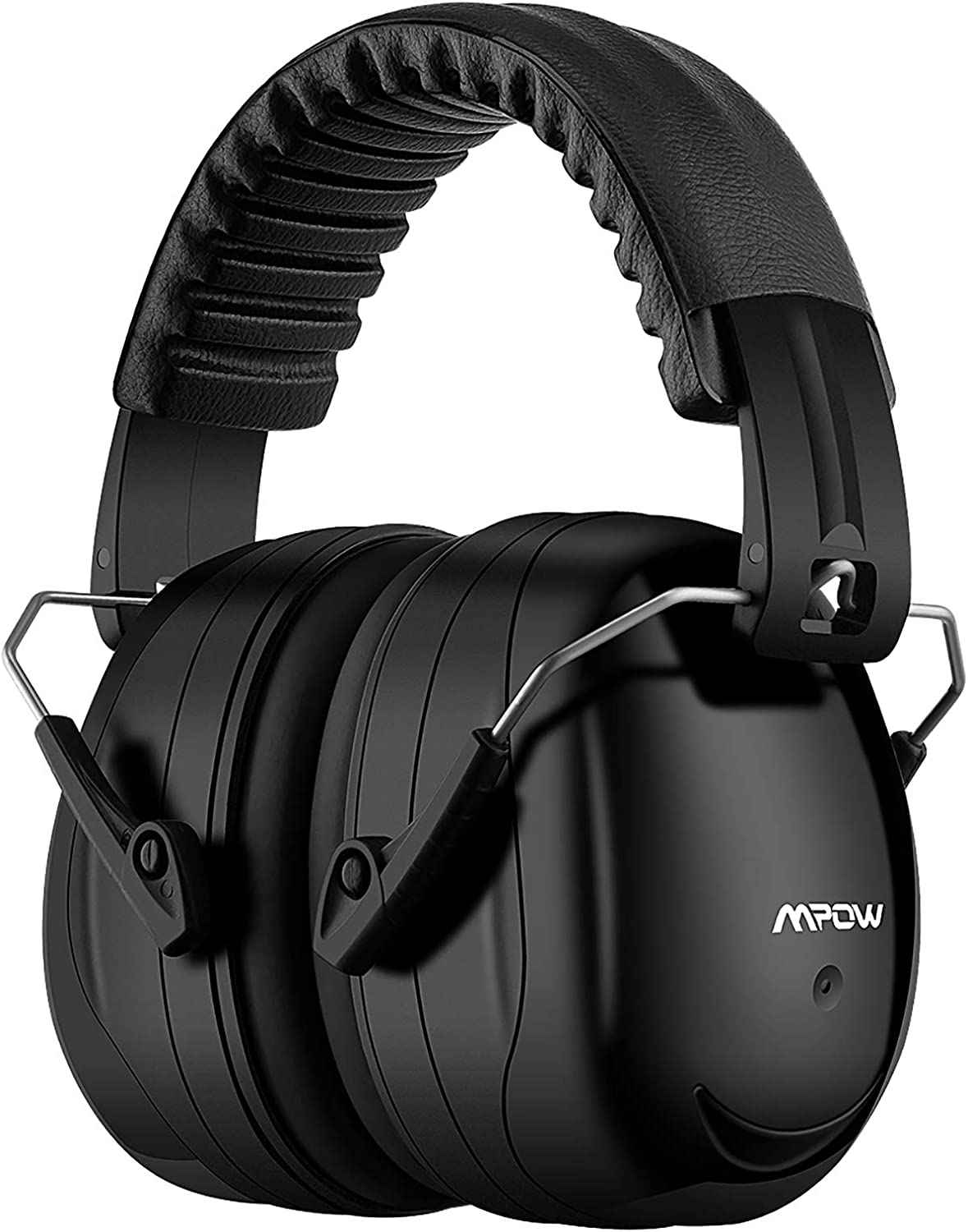 Mpow 035 Noise Reduction Safety Ear Muffs, Shooters Hearing Protection Ear Muffs, Adjustable Shooting Ear Muffs, NRR 28dB Ear Defenders for Shooting Hunting Season, with a Carrying Bag- Black: Home Improvement