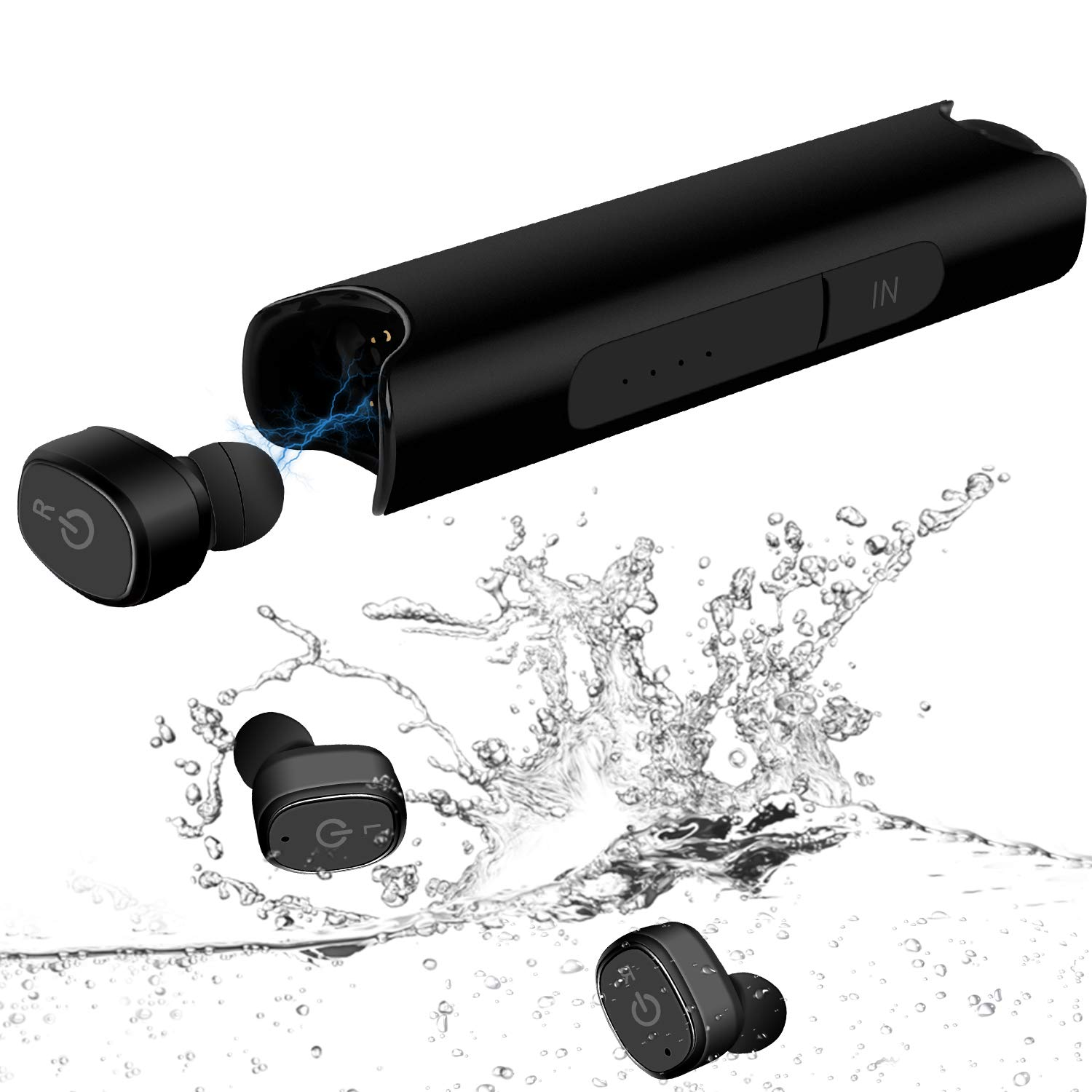 Wireless Earbuds, STOGA S2 Pro Bluetooth Earphones IPX7 Waterproof Sports in-Ear Earbuds Headsets