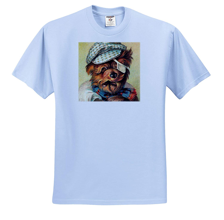 Dogs The Clochard T-Shirts 3dRose VintageChest