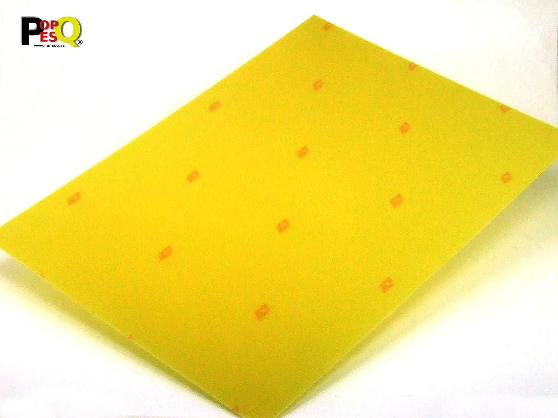 POPESQ® 1 Stk. x FR4 Platte 3D Drucker Heizbett 0.8mm 210mmx297mm (A4) Kupferlos #A2457 POPESQ®