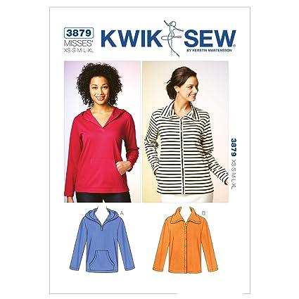 Amazon Kwik Sew K3879 Top And Cardigan Sewing Pattern Size Xs